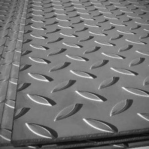 Лист горячекатанный рифленый  5,0 мм